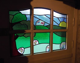 Stained Glass made by Cariad Glass